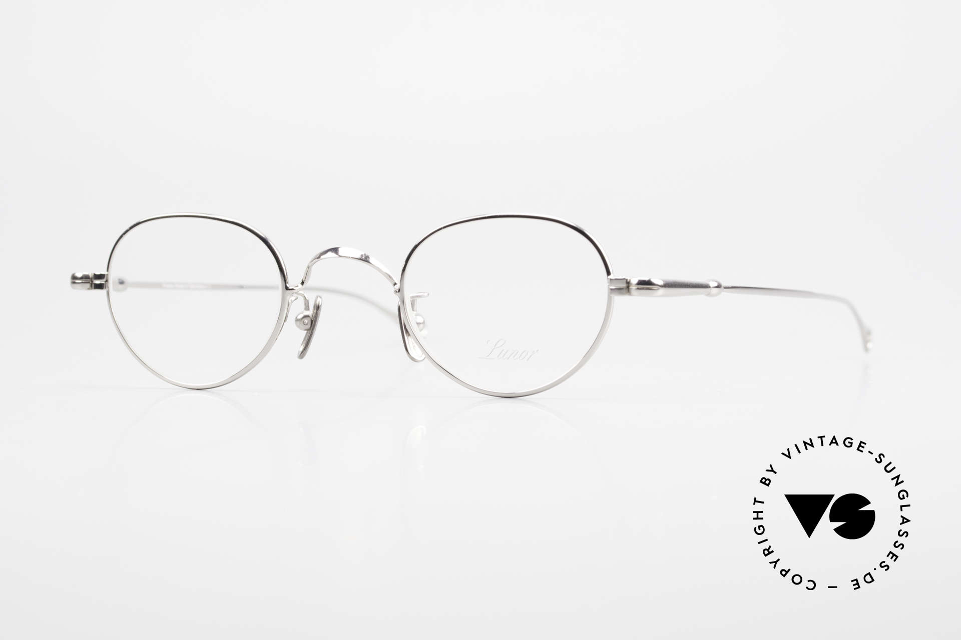 Lunor V 103 Timeless Lunor Eyeglass-Frame, LUNOR: honest craftsmanship with attention to details, Made for Men and Women