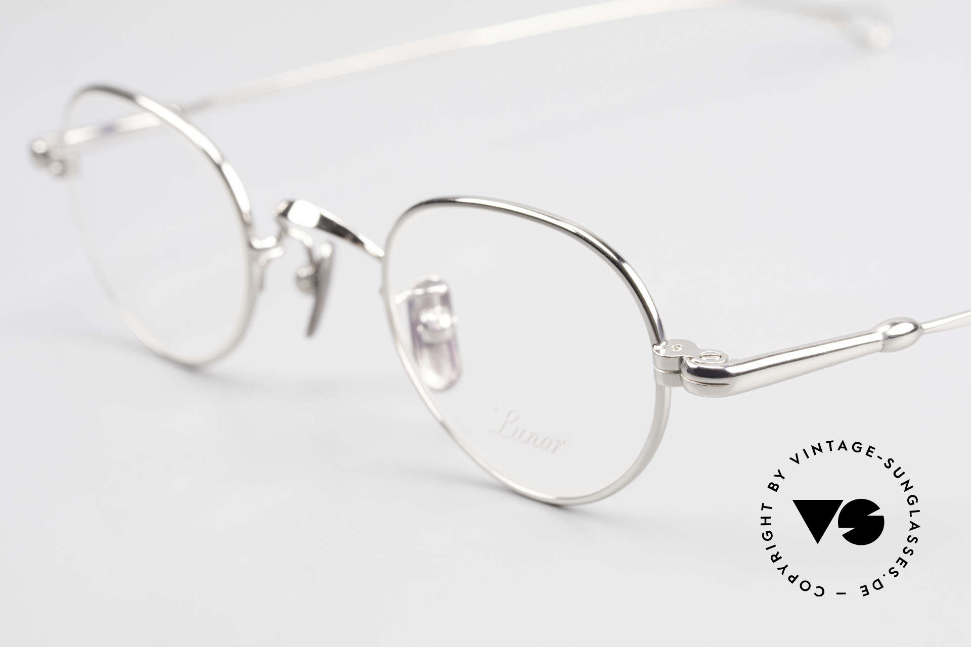 Lunor V 103 Timeless Lunor Eyeglass-Frame, from the 2011's collection, but in a well-known quality, Made for Men and Women