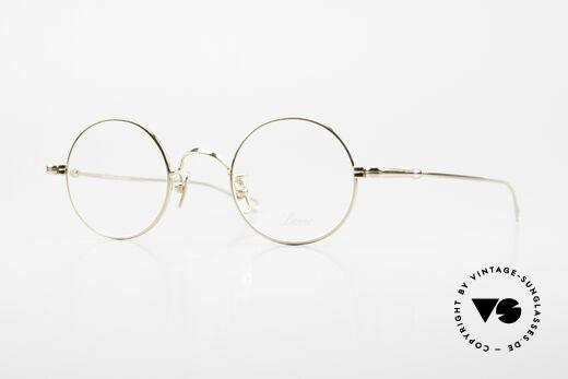 Lunor V 110 Lunor Round Glasses GP Gold Details