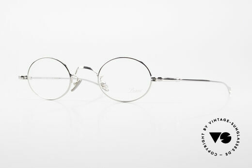 Lunor V 100 Oval Vintage Lunor Glasses Details