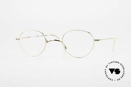 Lunor XXV Folding 03 Lunor Foldable Panto Glasses Details