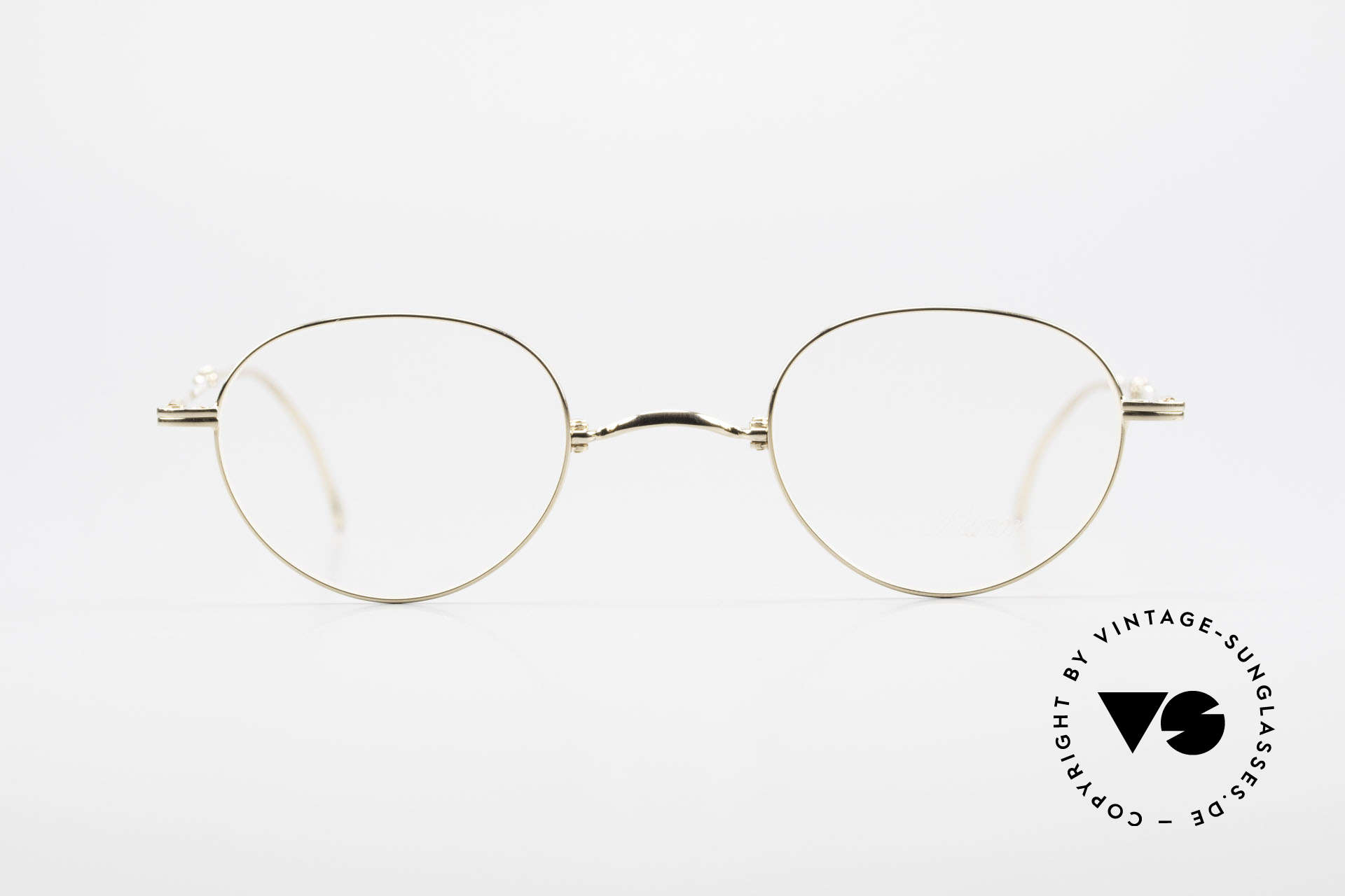 Lunor XXV Folding 03 Lunor Foldable Panto Glasses, traditional German brand; quality handmade in Germany, Made for Men and Women