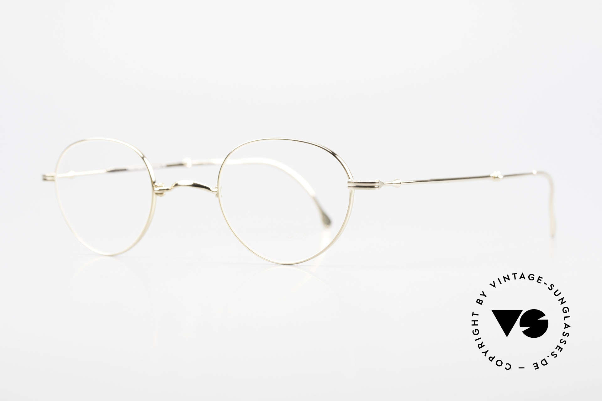 """Lunor XXV Folding 03 Lunor Foldable Panto Glasses, well-known for the """"W-bridge"""" & the plain frame designs, Made for Men and Women"""