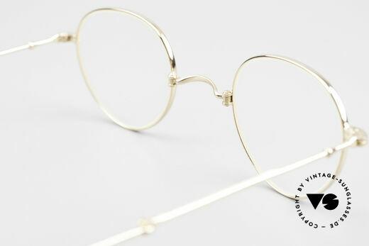 Lunor XXV Folding 03 Lunor Foldable Panto Glasses, NO RETRO EYEGLASSES, but a precious LUNOR ORIGINAL, Made for Men and Women