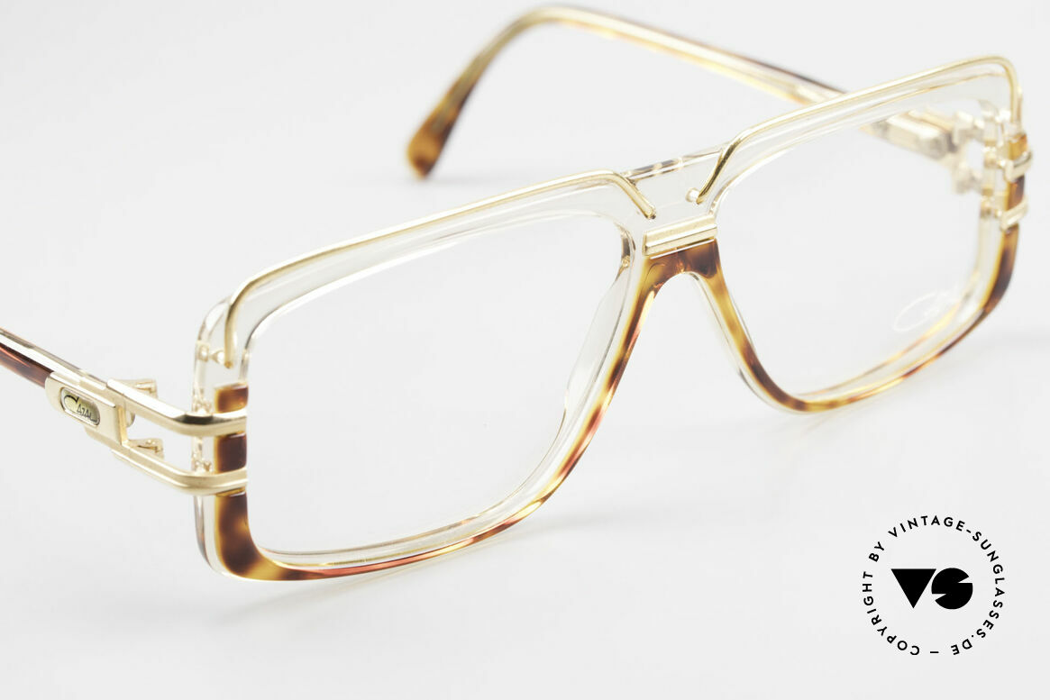 Cazal 640 90's Hip Hop Eyeglass Frame, new old stock (like all our rare vintage Cazal specs), Made for Men
