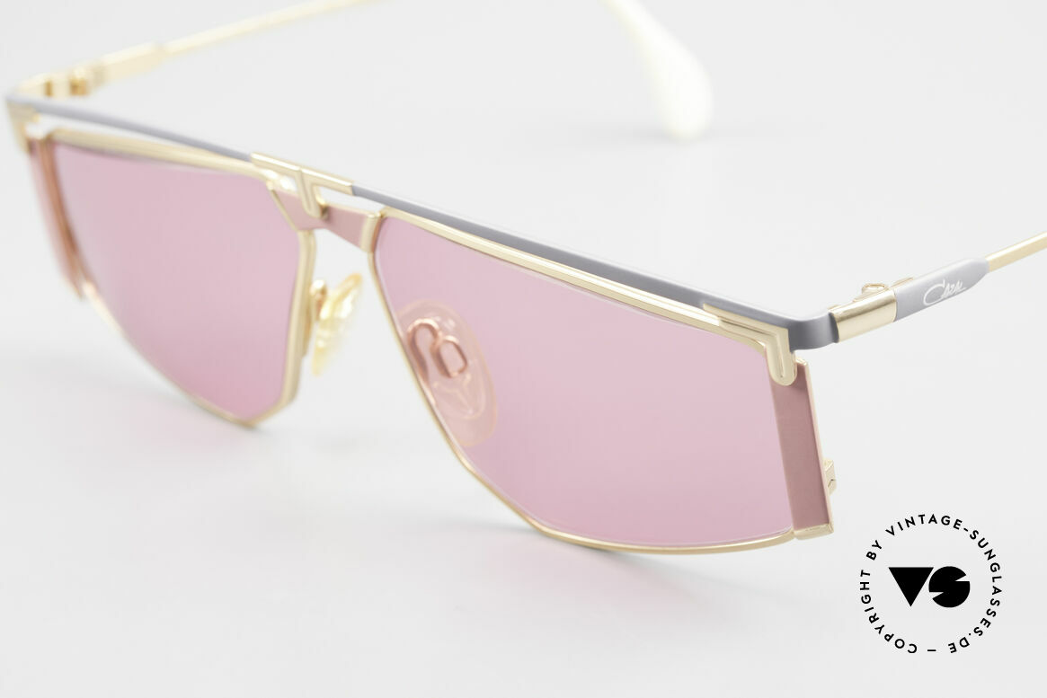 Cazal 235 Pink Titanium Vintage Frame, unworn, NOS (like all our rare vintage Titanium specs), Made for Men and Women