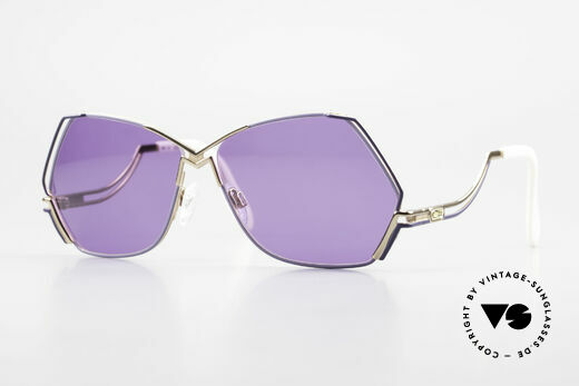 Cazal 226 Purple Vintage Ladies Shades Details