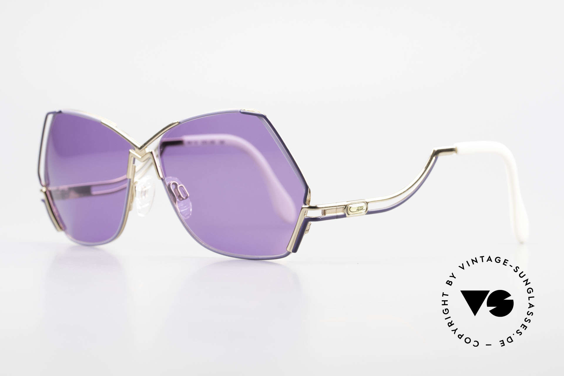 Cazal 226 Purple Vintage Ladies Shades, a true eye-catcher; just beautiful and simply unique, Made for Women
