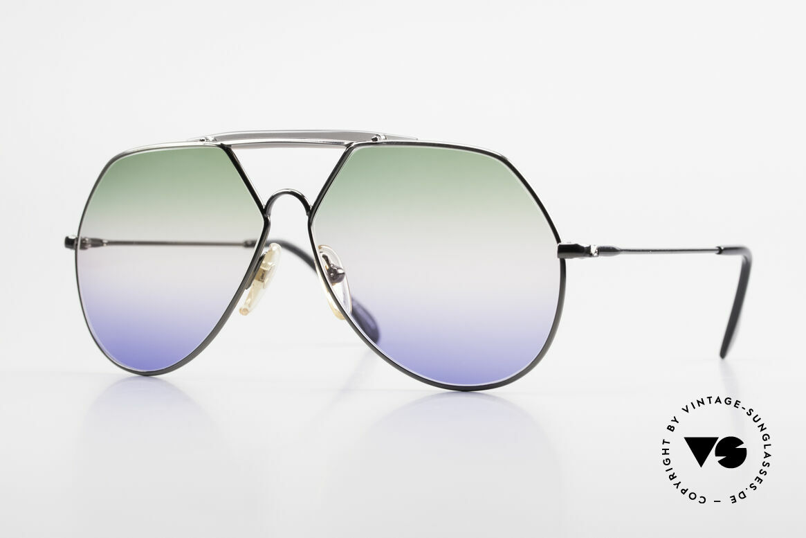 Alpina TR5 West Germany Aviator Frame, extraordinary Alpina sunglasses from 1986/1987, Made for Men