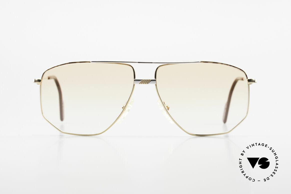 Alpina FM68 No Retro Glasses True Vintage, tangible, premium craftsmanship (Frame West Germany), Made for Men