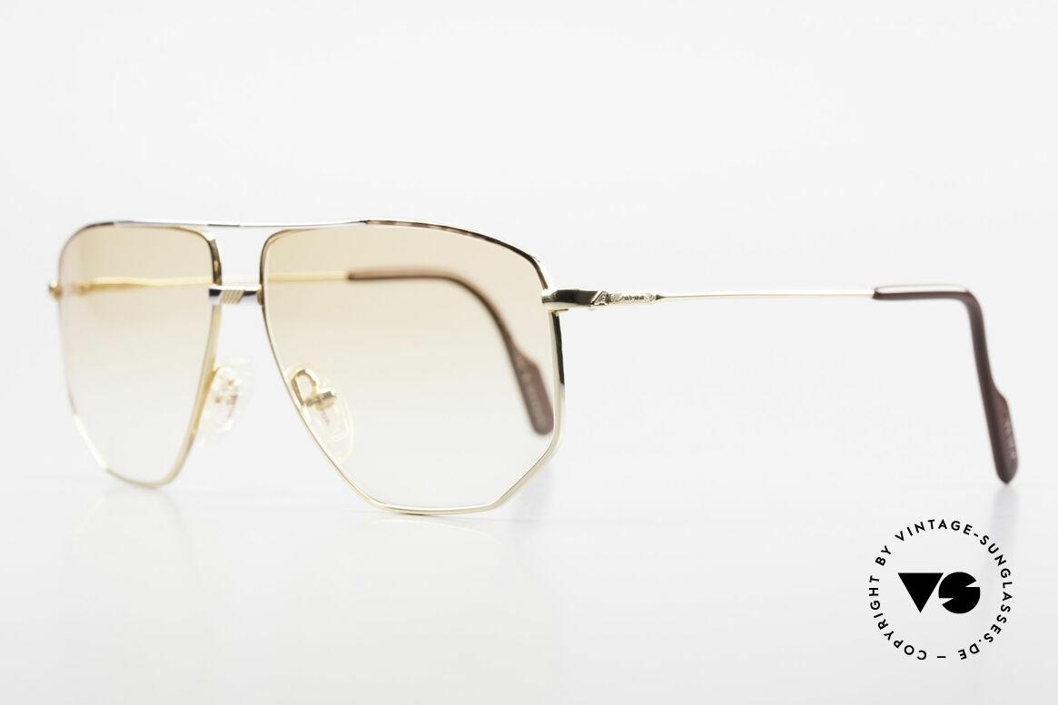 Alpina FM68 No Retro Glasses True Vintage, elegant frame bridge with an excellent frame pattern, Made for Men