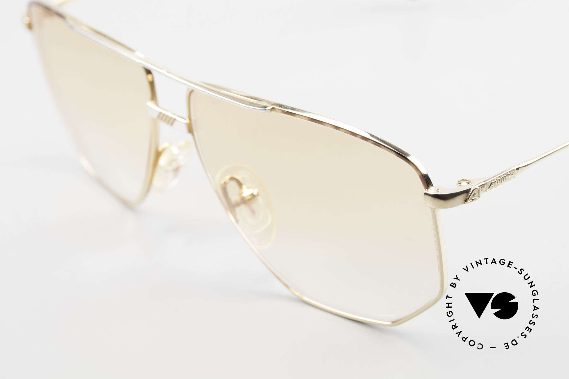 Alpina FM68 No Retro Glasses True Vintage, unworn, one of a kind (like all our vintage Alpina specs), Made for Men