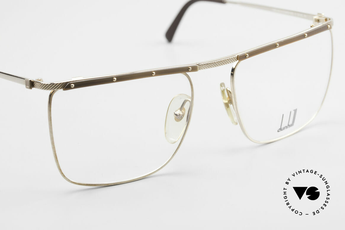 Dunhill 6056 Genuine Horn Trims 80's Frame, unworn (like all our vintage DUNHILL eyewear), Made for Men