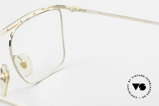 Dunhill 6056 Genuine Horn Trims 80's Frame, NO retro glasses, but a precious old ORIGINAL!, Made for Men