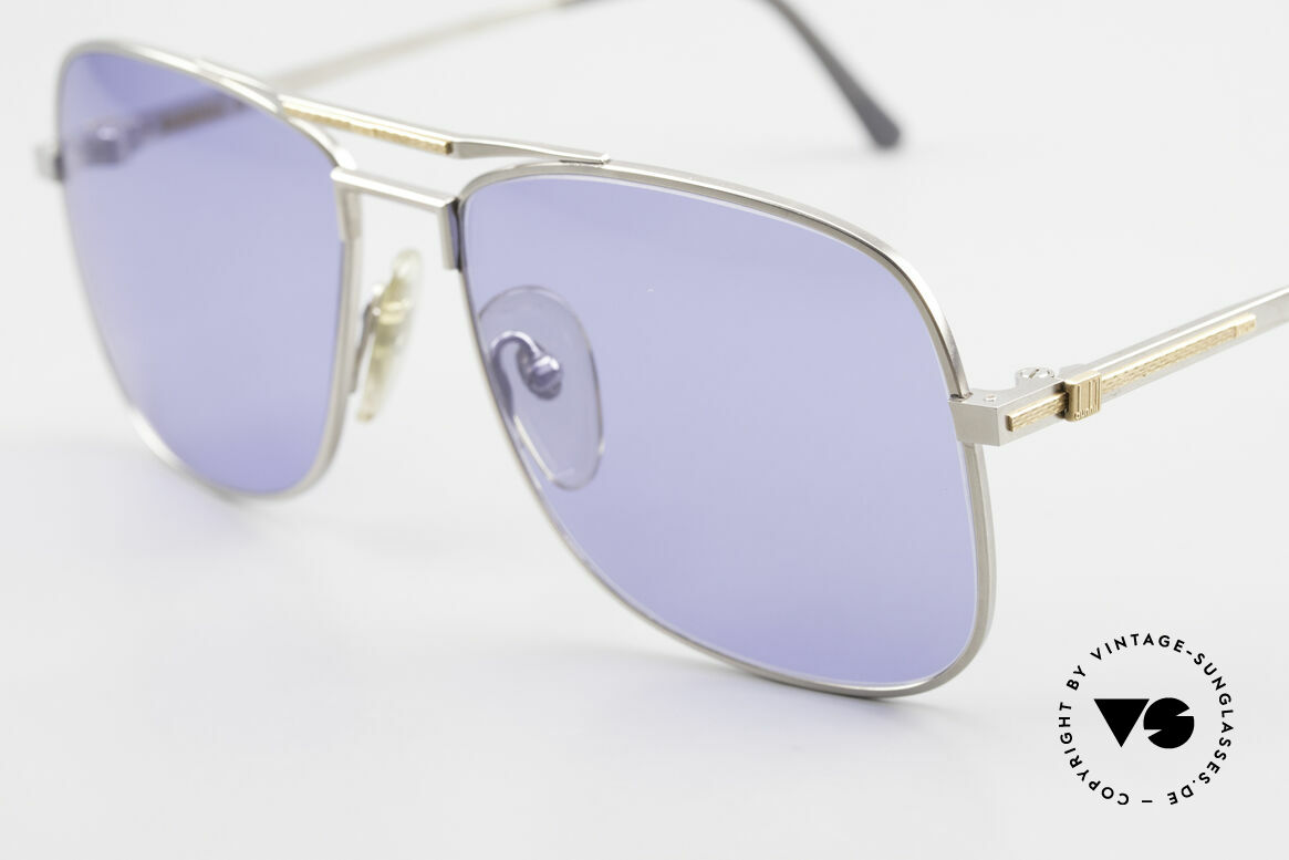 Dunhill 6038 18kt Gold Titanium 80s Shades, (today, designer frames are made for less than 5 USD), Made for Men