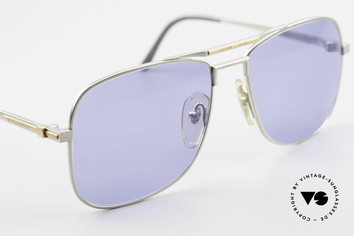 """Dunhill 6038 18kt Gold Titanium 80s Shades, genuine vintage """"must-have"""" of incredible top-quality!, Made for Men"""