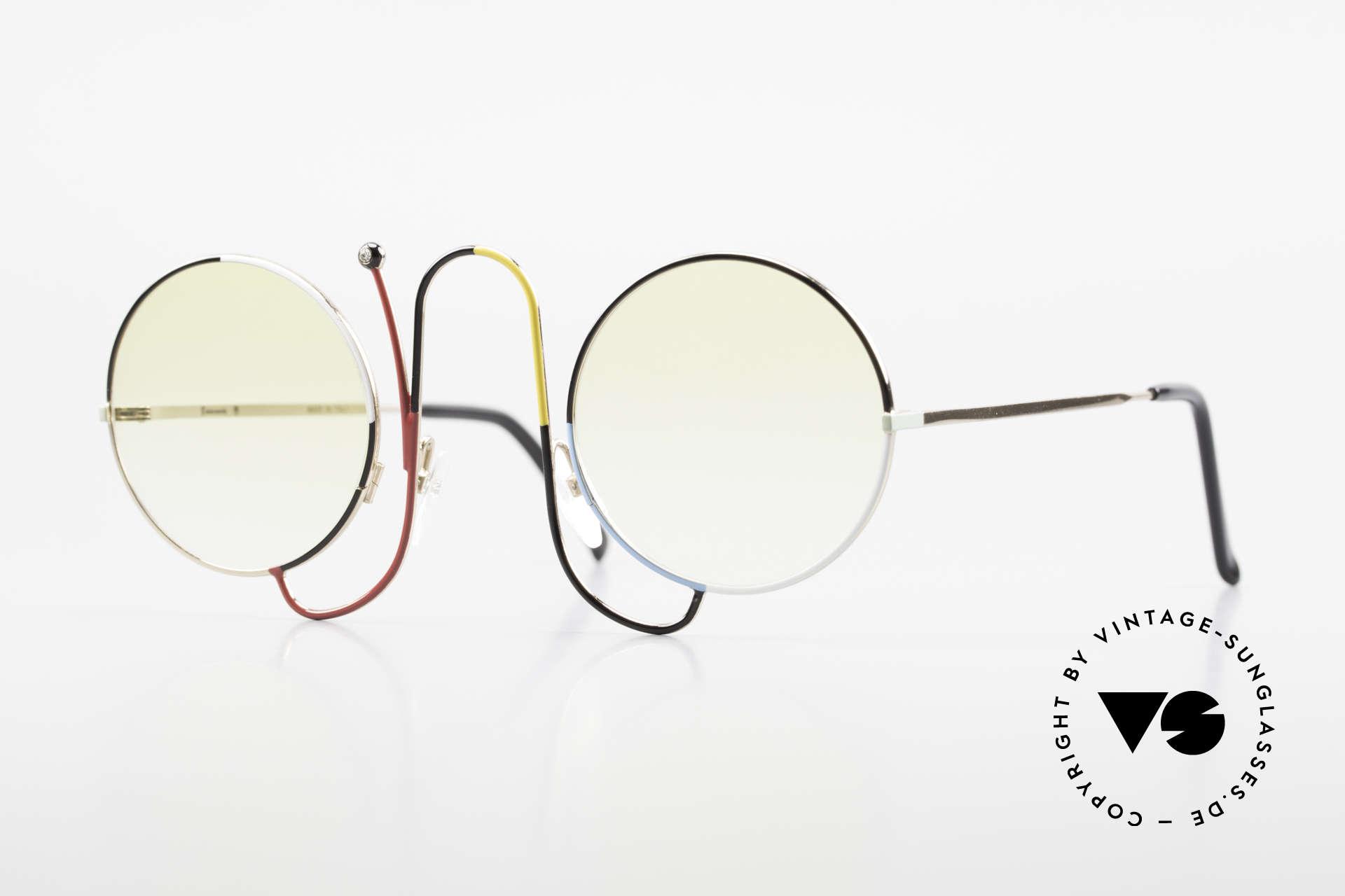 Casanova CMR 1 Rare Vintage Art Sunglasses, glamorous Casanova sunglasses from around 1985, Made for Women