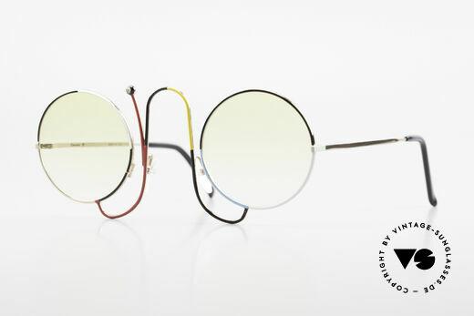Casanova CMR 1 Rare Vintage Art Sunglasses Details