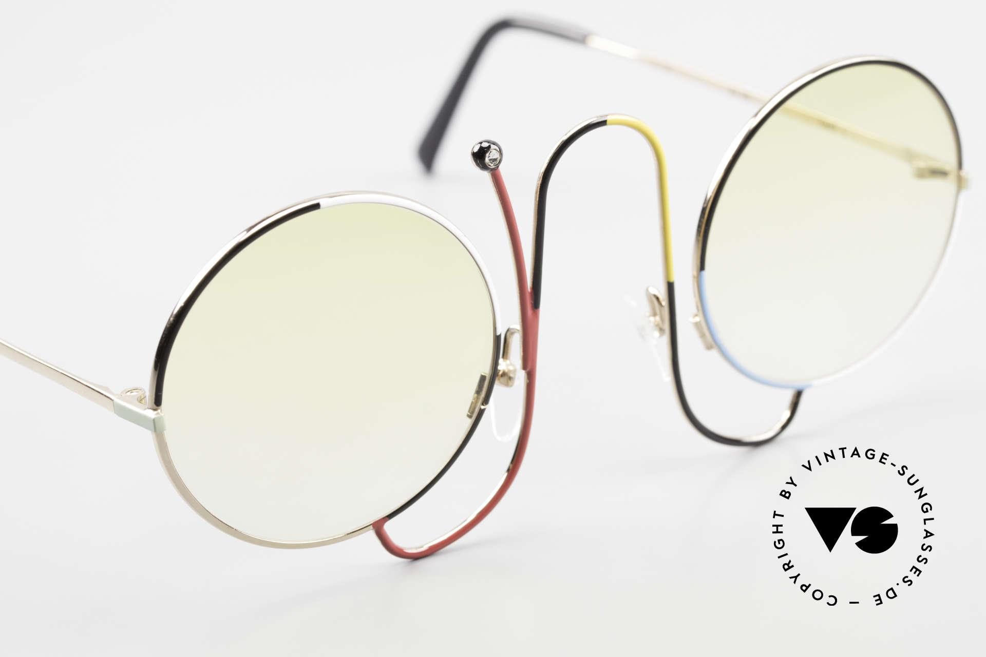 Casanova CMR 1 Rare Vintage Art Sunglasses, legendary Casanova sunglasses (with 'gem antenna'), Made for Women