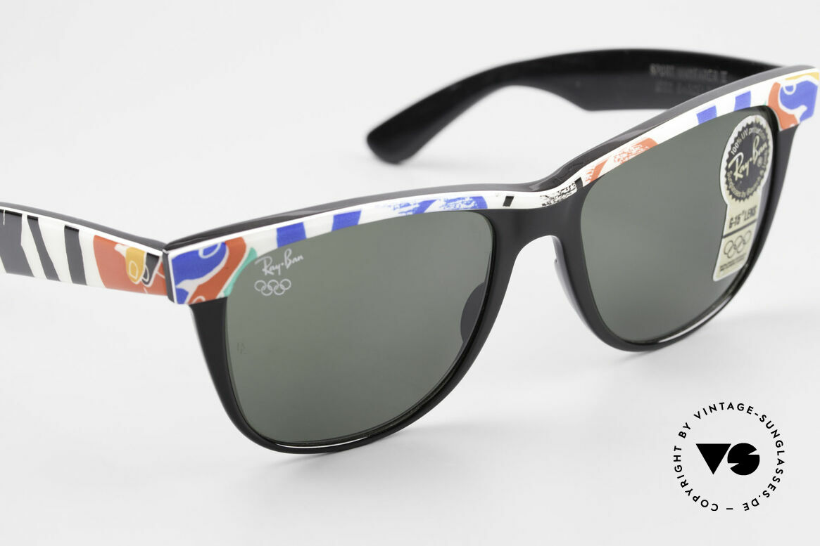Ray Ban Wayfarer II Olympic Games 1992 Barcelona, unworn B&L rarity (a real collector's item, worldwide), Made for Men and Women