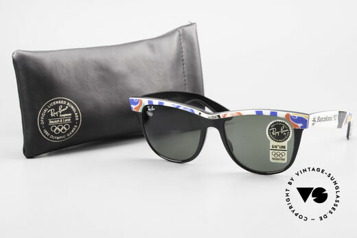 Ray Ban Wayfarer II Olympic Games 1992 Barcelona, Size: large, Made for Men and Women