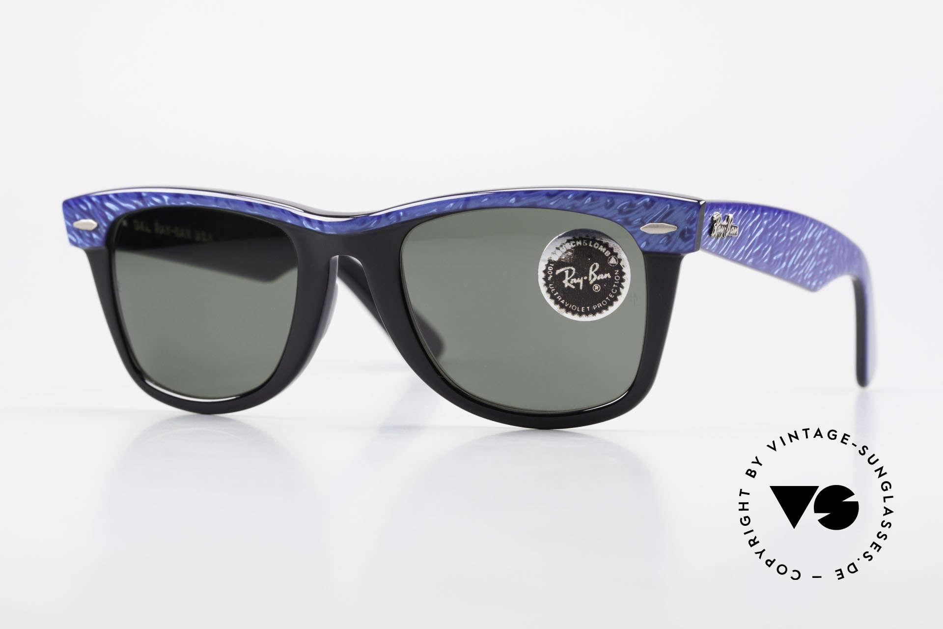 Ray Ban Wayfarer I Old 80's Bausch Lomb Ray-Ban, old Ray-Ban Wayfarer 1980's sunglasses, U.S.A., Made for Men and Women