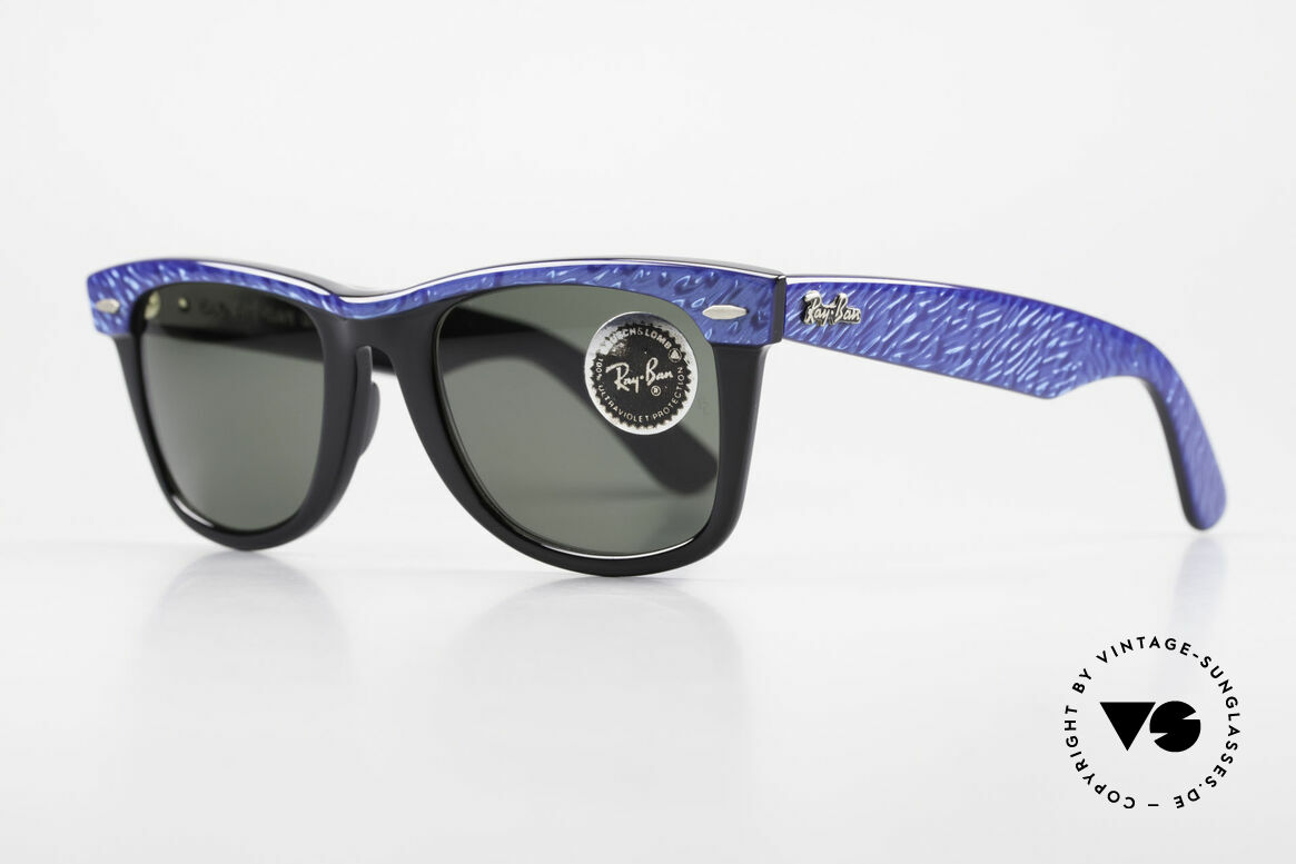 Ray Ban Wayfarer I Old 80's Bausch Lomb Ray-Ban, Bausch&Lomb mineral lenses (100% UV protection), Made for Men and Women