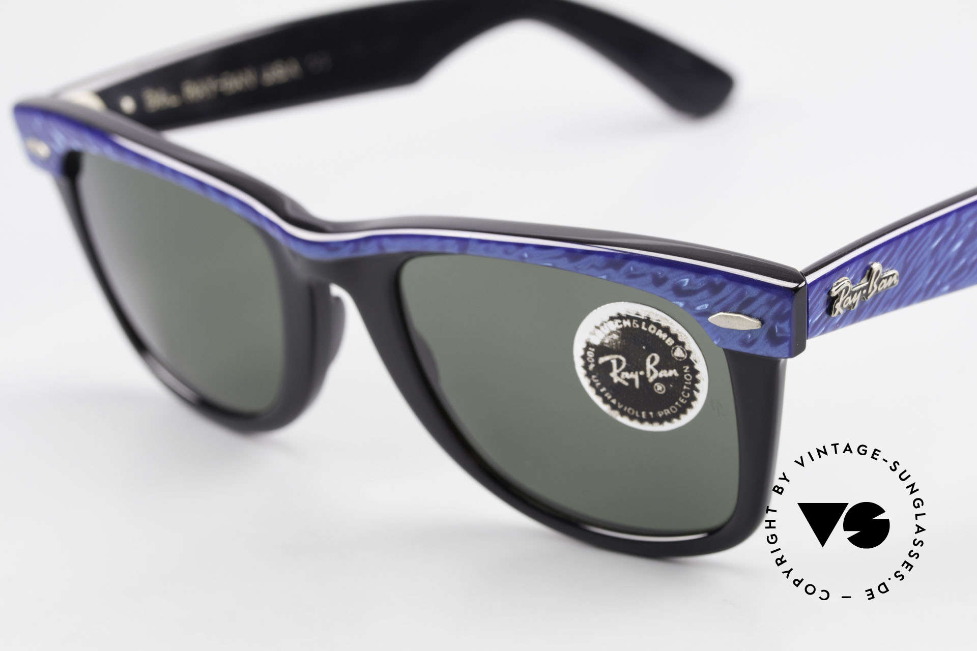 Ray Ban Wayfarer I Old 80's Bausch Lomb Ray-Ban, unworn rarity, NOS (meanwhile, a collector's item), Made for Men and Women
