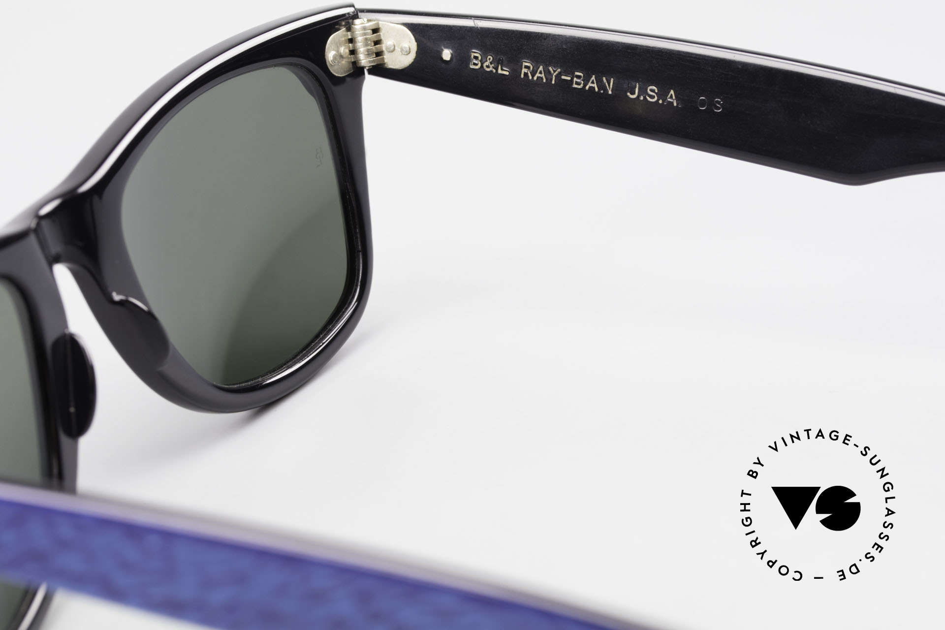 Ray Ban Wayfarer I Old 80's Bausch Lomb Ray-Ban, Size: medium, Made for Men and Women
