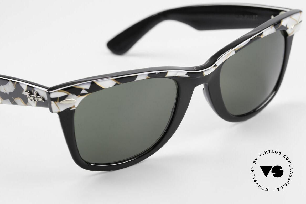 Ray Ban Wayfarer I Original Mosaic Wayfarer 80's, NO RETRO sunglasses, but an authentic old original, Made for Men and Women