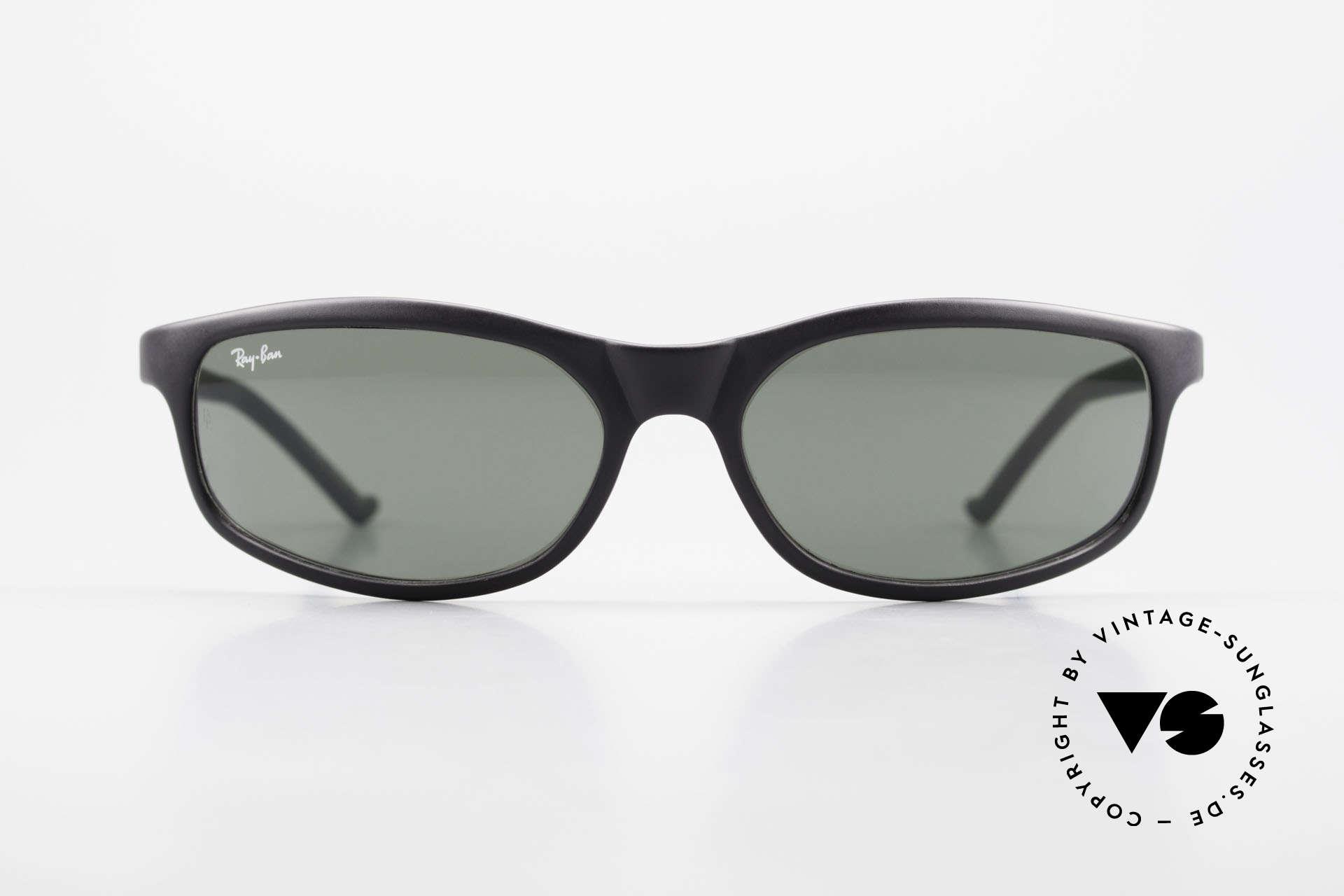 Ray Ban Predator 8 Sporty B&L USA Sunglasses, PREDATOR 8, dull black, G15 B&L lenses, 57mm, Made for Men