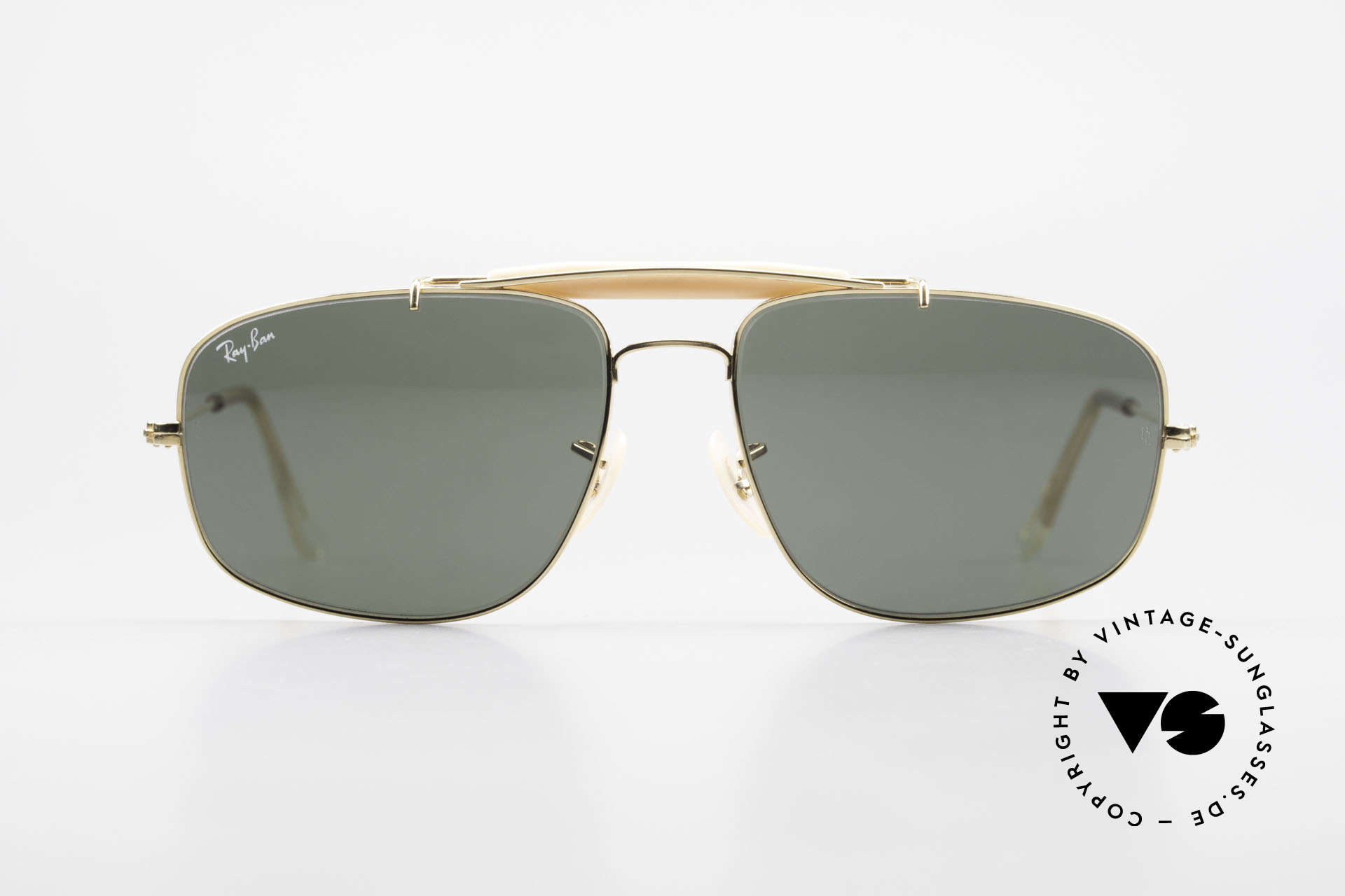 Ray Ban Explorer Browbar Old Ray Ban Made in USA B&L, alternative aviator style with lens size 58mm, Made for Men