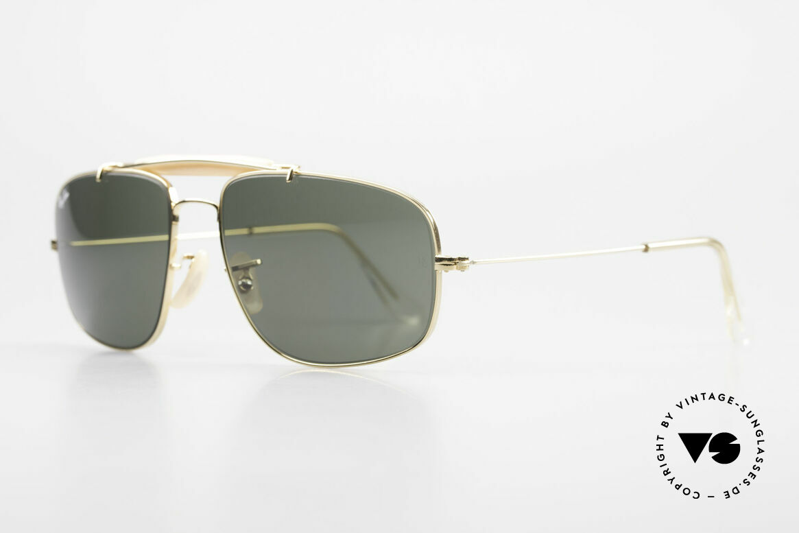 Ray Ban Explorer Browbar Old Ray Ban Made in USA B&L, orig. name: small Explorer Browbar, W0964, G15, Made for Men