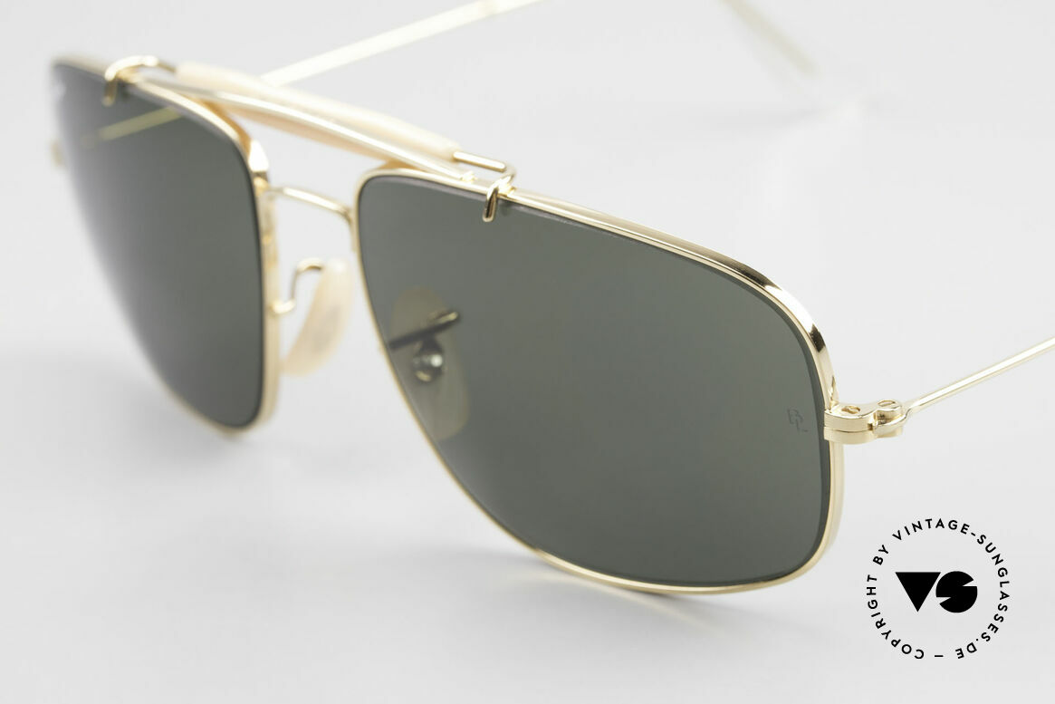 Ray Ban Explorer Browbar Old Ray Ban Made in USA B&L, never worn (like all our rare vintage Ray Bans), Made for Men