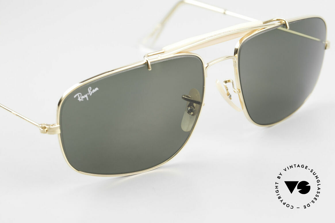 Ray Ban Explorer Browbar Old Ray Ban Made in USA B&L, classic frame for men with an old Ray-Ban case, Made for Men