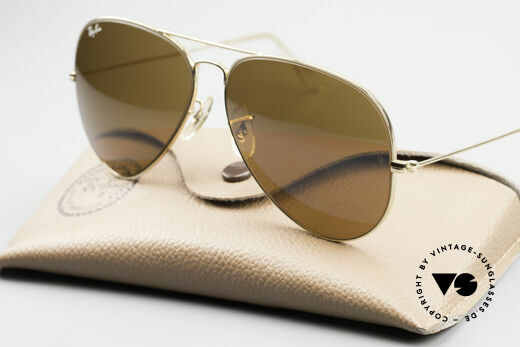 Ray Ban Large Metal II Old Ray-Ban B&L USA Shades, never worn (like all our vintage Ray Ban eyewear), Made for Men