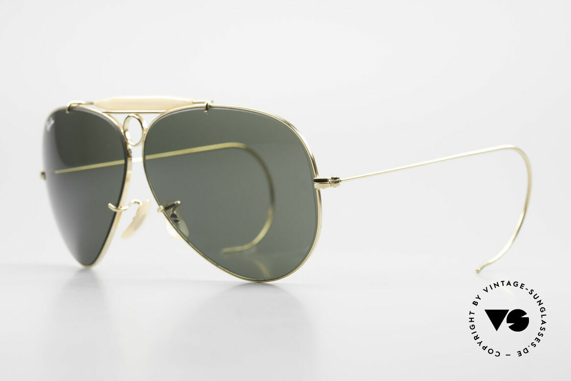Ray Ban Shooter Sport Sunglass Classic Made in USA, made by Bausch & Lomb in Rochester (NY), U.S.A., Made for Men