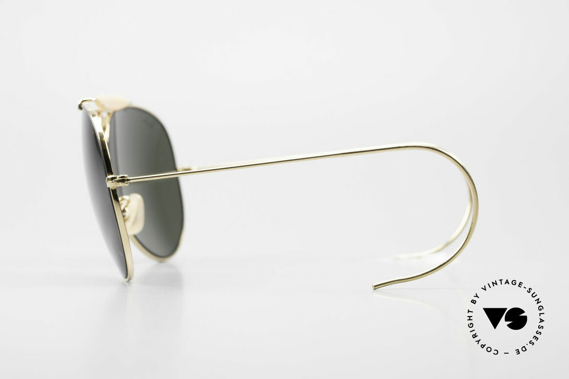 Ray Ban Shooter Sport Sunglass Classic Made in USA, rare, noble, precious - unworn & with original case, Made for Men