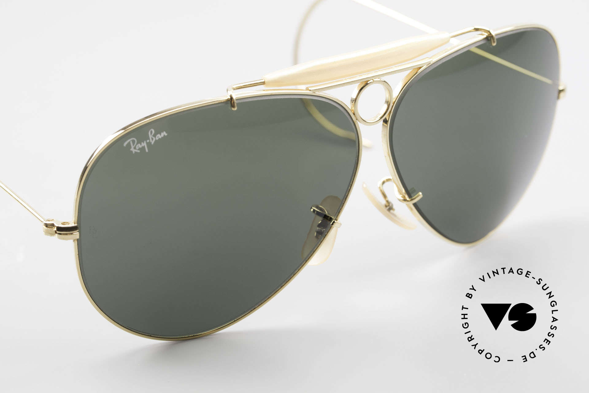 Ray Ban Shooter Sport Sunglass Classic Made in USA, NO RETRO frame, but authentic Bausch&Lomb, USA, Made for Men