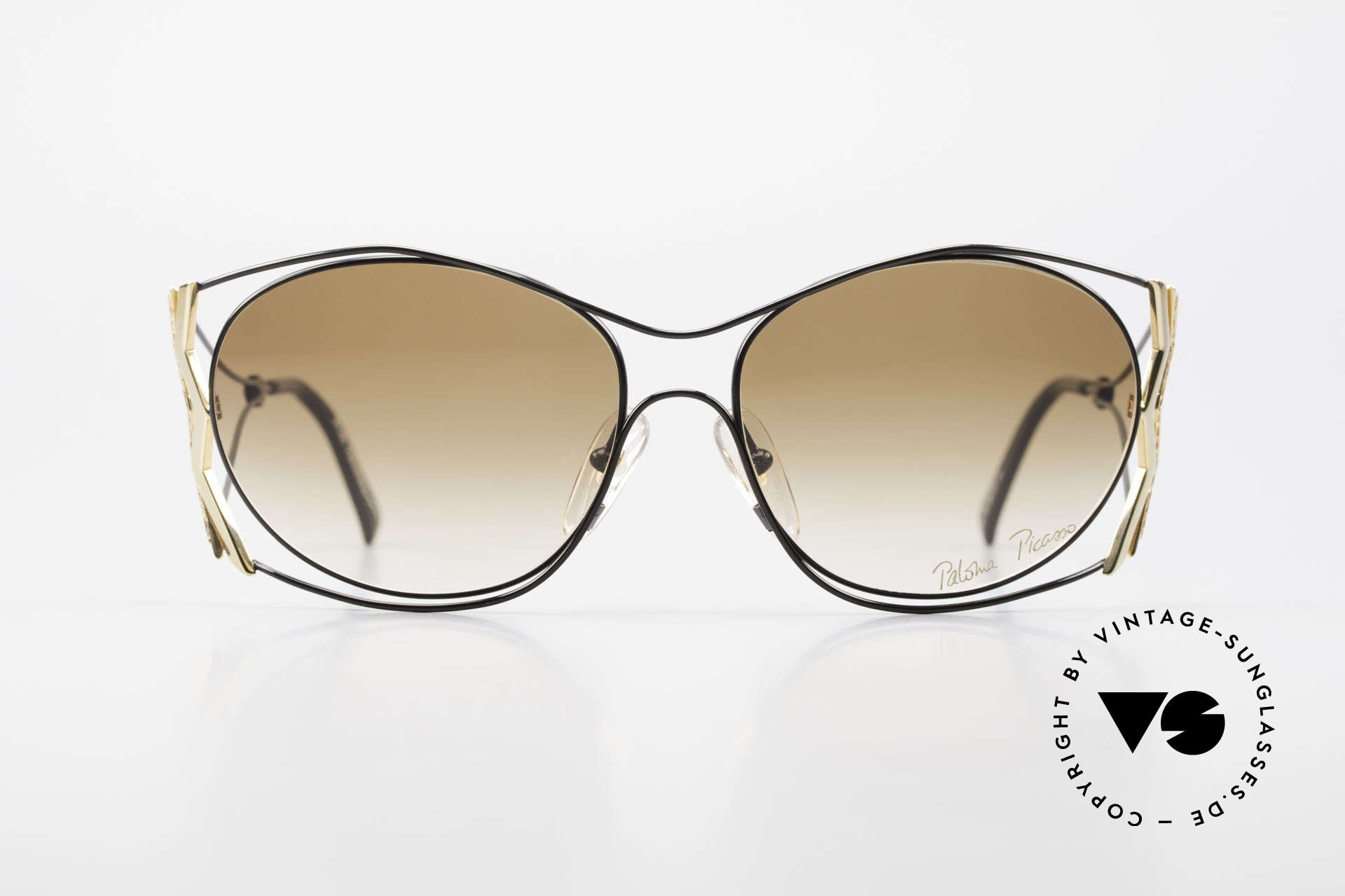 Paloma Picasso 3707 90s Ladies Shades Rhinestones, playful and elegant at the same time; just glamorous, Made for Women