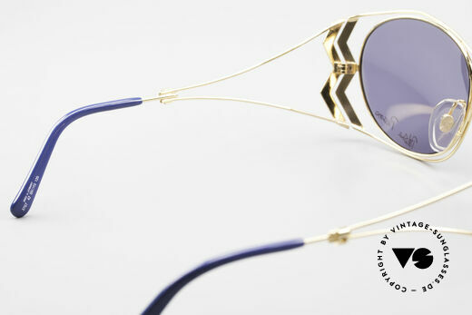 Paloma Picasso 3707 90's Sunglasses Gold-Plated, Size: medium, Made for Women