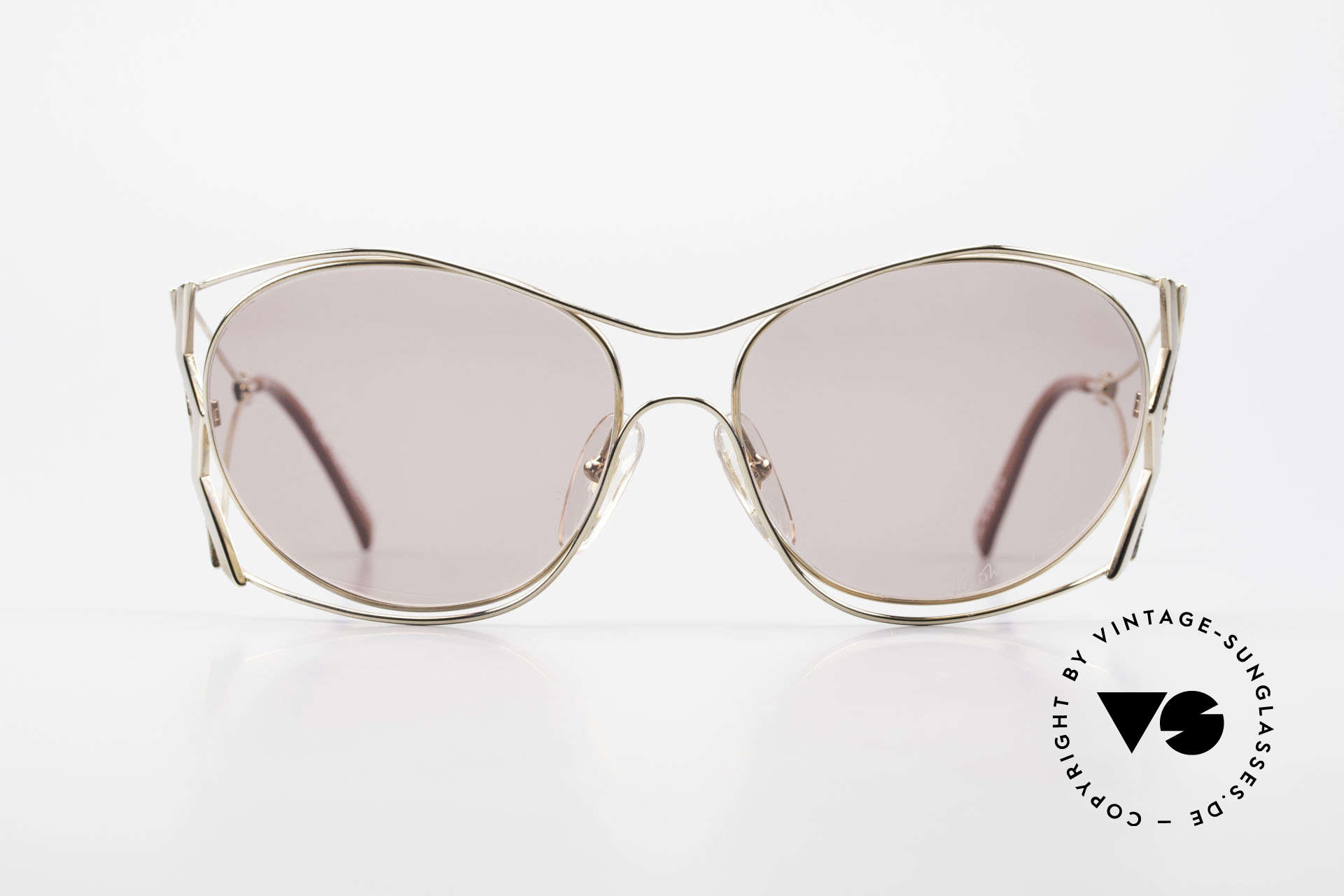 Paloma Picasso 3707 90's Sunglasses Rhinestones, playful and elegant at the same time; just glamorous, Made for Women