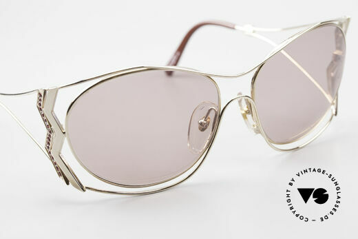 Paloma Picasso 3707 90's Sunglasses Rhinestones, NO retro sunglasses; a unique authentic 90's original, Made for Women