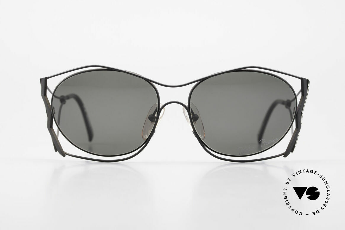 Paloma Picasso 3707 90s Shades Crystal Rhinestones, playful and elegant at the same time; just glamorous, Made for Women