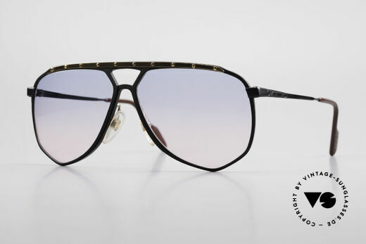 Alpina M1/4 80's Sunglasses Baby-Blue Pink Details