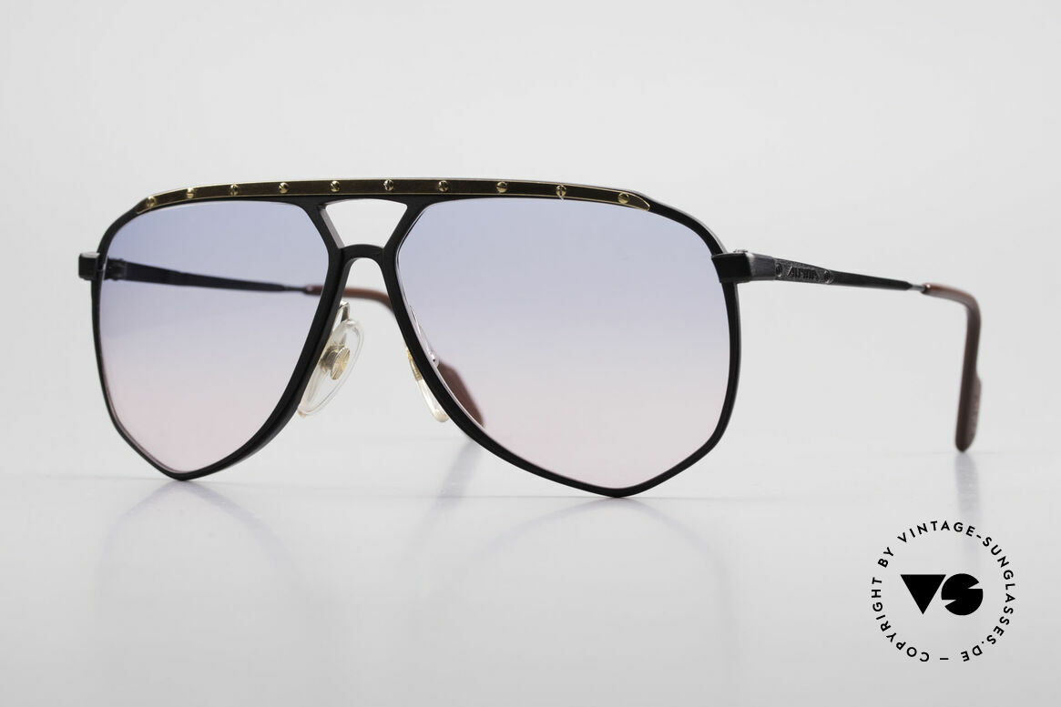 Alpina M1/4 80's Sunglasses Baby-Blue Pink, M1/4 - the modification of the legendary ALPINA M1, Made for Men