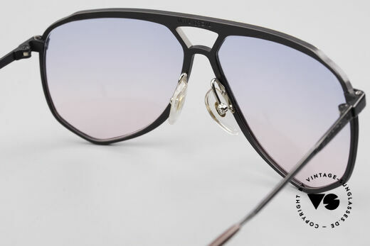 Alpina M1/4 80's Sunglasses Baby-Blue Pink, the frame can be glazed with prescriptions optionally, Made for Men