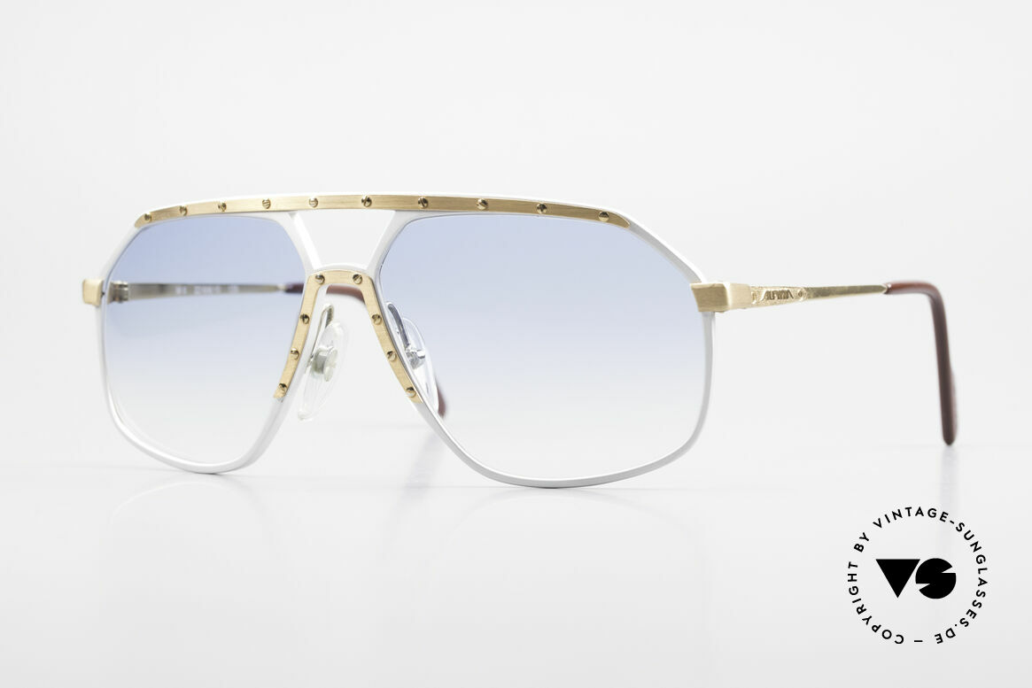 Alpina M6 Iconic 80's Sunglass Classic, old Alpina M6 vintage sunglasses, West Germany, Made for Men