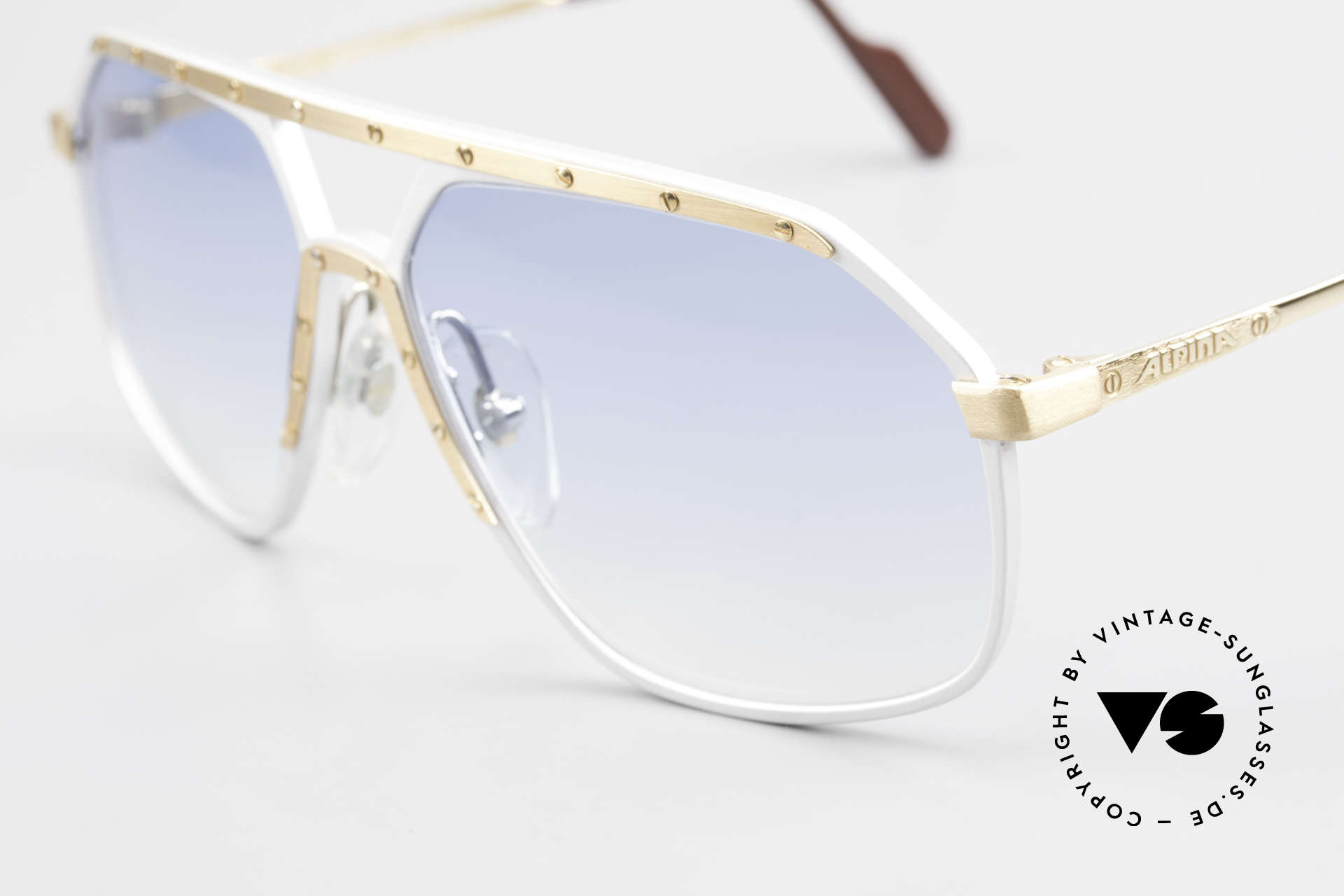 Alpina M6 Iconic 80's Sunglass Classic, the Alpina M6's were made between 1987 and 1991, Made for Men