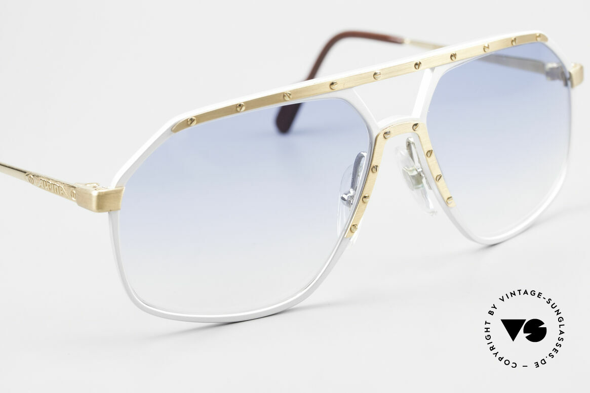 Alpina M6 Iconic 80's Sunglass Classic, one of the most wanted vintage models, worldwide, Made for Men